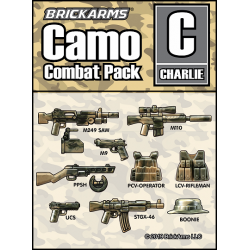 Camo Combat Pack - CHARLIE