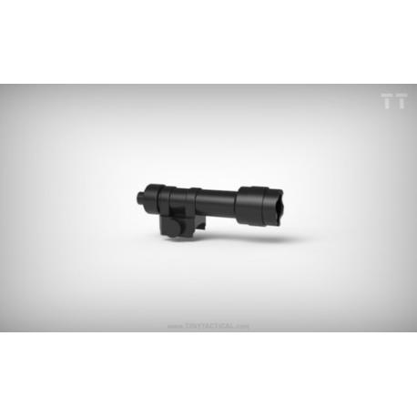 Assault Rifle Suppressor - Black