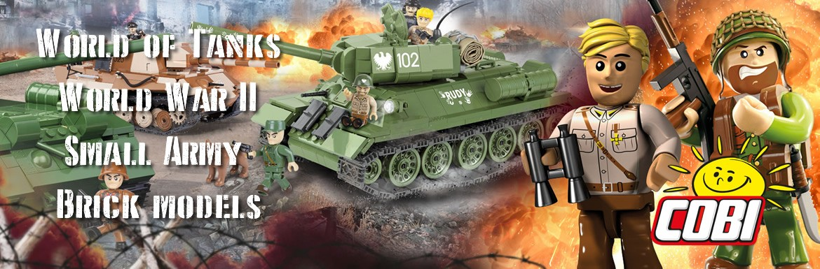 Cobi Army Models