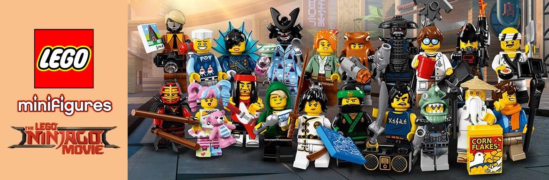 Lego Ninjago Movie Minifigures