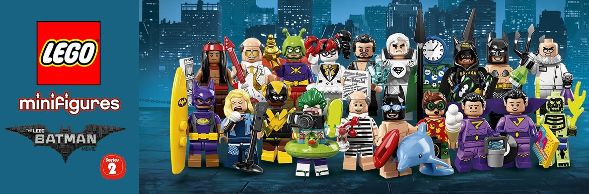 Lego Batman Movie serie 2 Minifigures